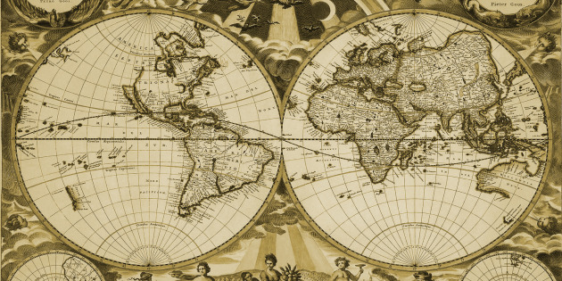 antique-world-map