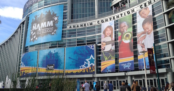 Namm 2015 Front of Convention Center small