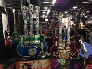 Namm 2015 triple neck guitar